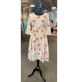Papillon Dobbie 3/4 Sleeve Dress