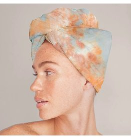 Kitsch Microfiber Hair Towel - Sunset Tie Dye