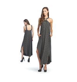Papillon Striped Midi Dress