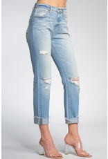 Elan Boyfriend Jean with Rips