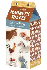 Chronicle Books On the Farm Magnetic Wood Shapes