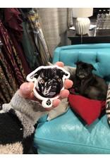 Breanne K Design Shop Dog Simon Sticker