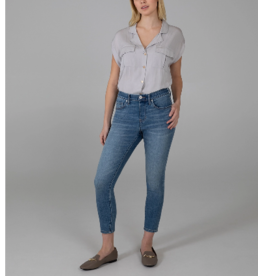 Jag Valentina High Rise Crop Pull-On Jeans