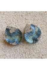 BoldB Ridge Stud Earrings