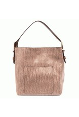 Joy Susan Mauve Hobo Handbag
