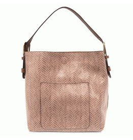 Joy Susan Mauve Hobo Handbag
