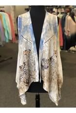 Vintage Concept Detailed Vest
