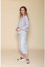 Fenini Side Pocket Crop Pant