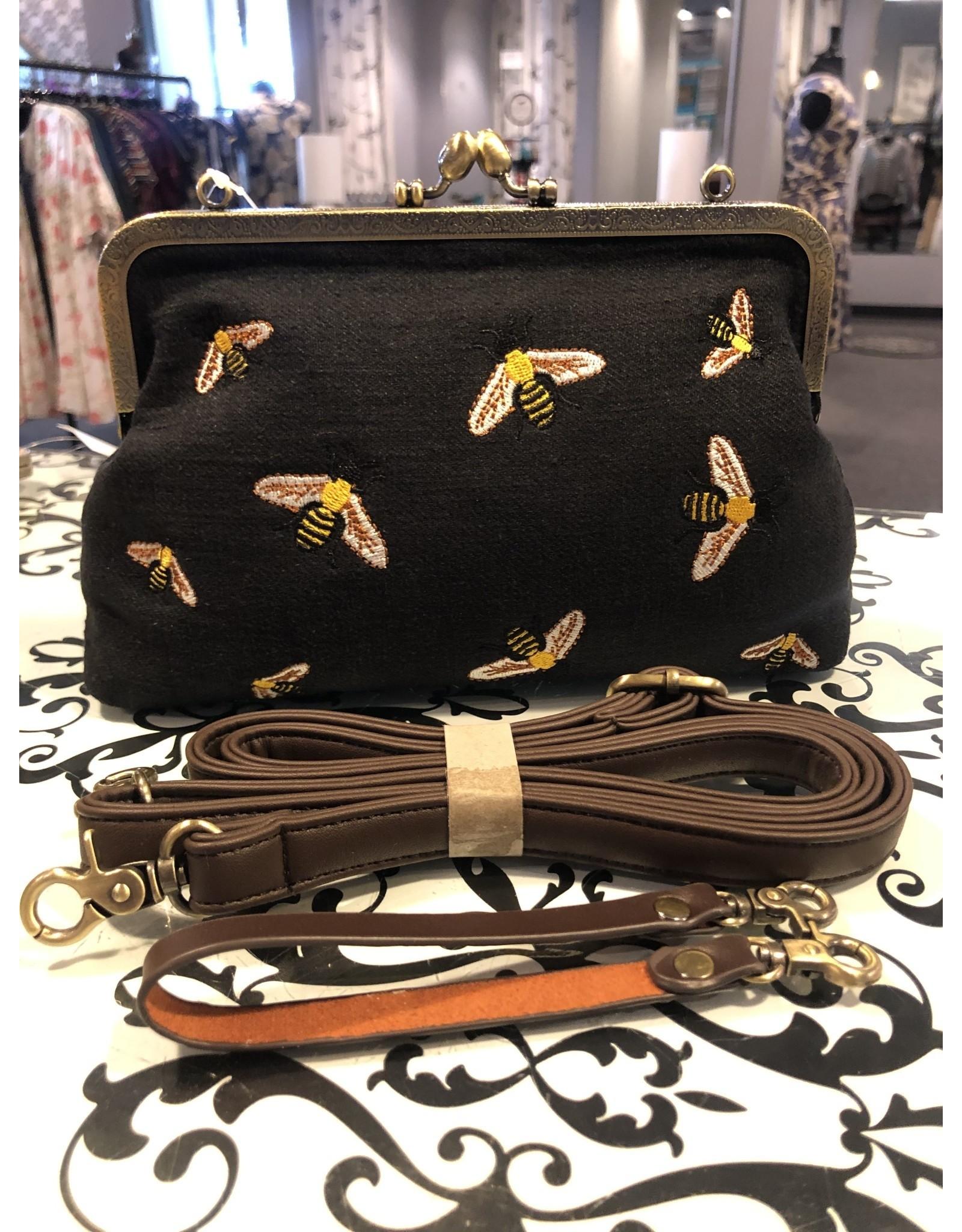 Relish Bee's Kisslock Bag
