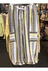 Fenini Striped Cargo Pant