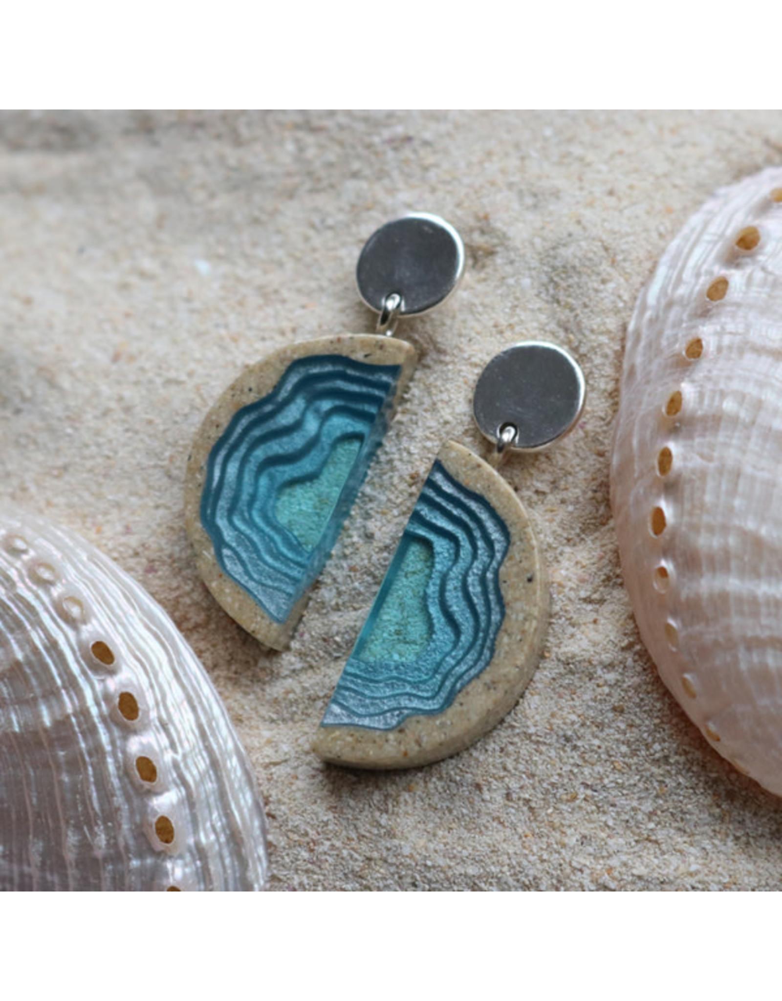BoldB Inlet Statement Earrings