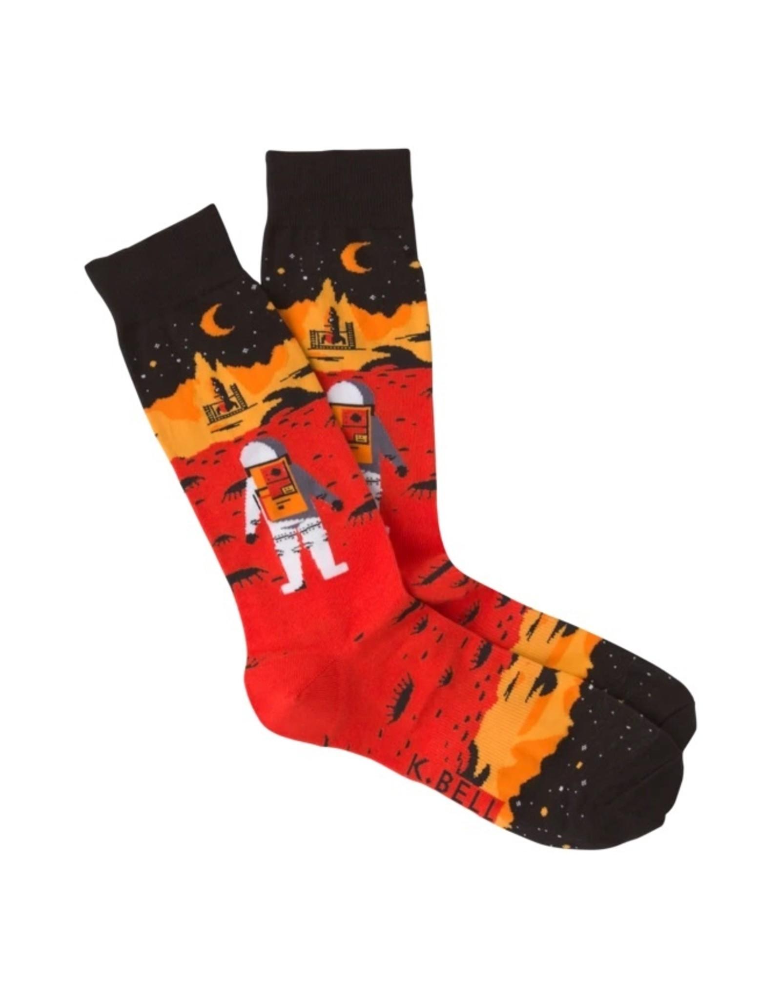 K.Bell Men's Crew Socks