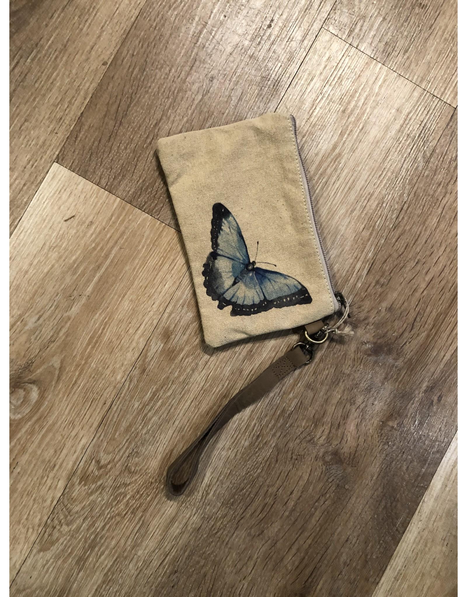 Relish Leather Strap Wristlet