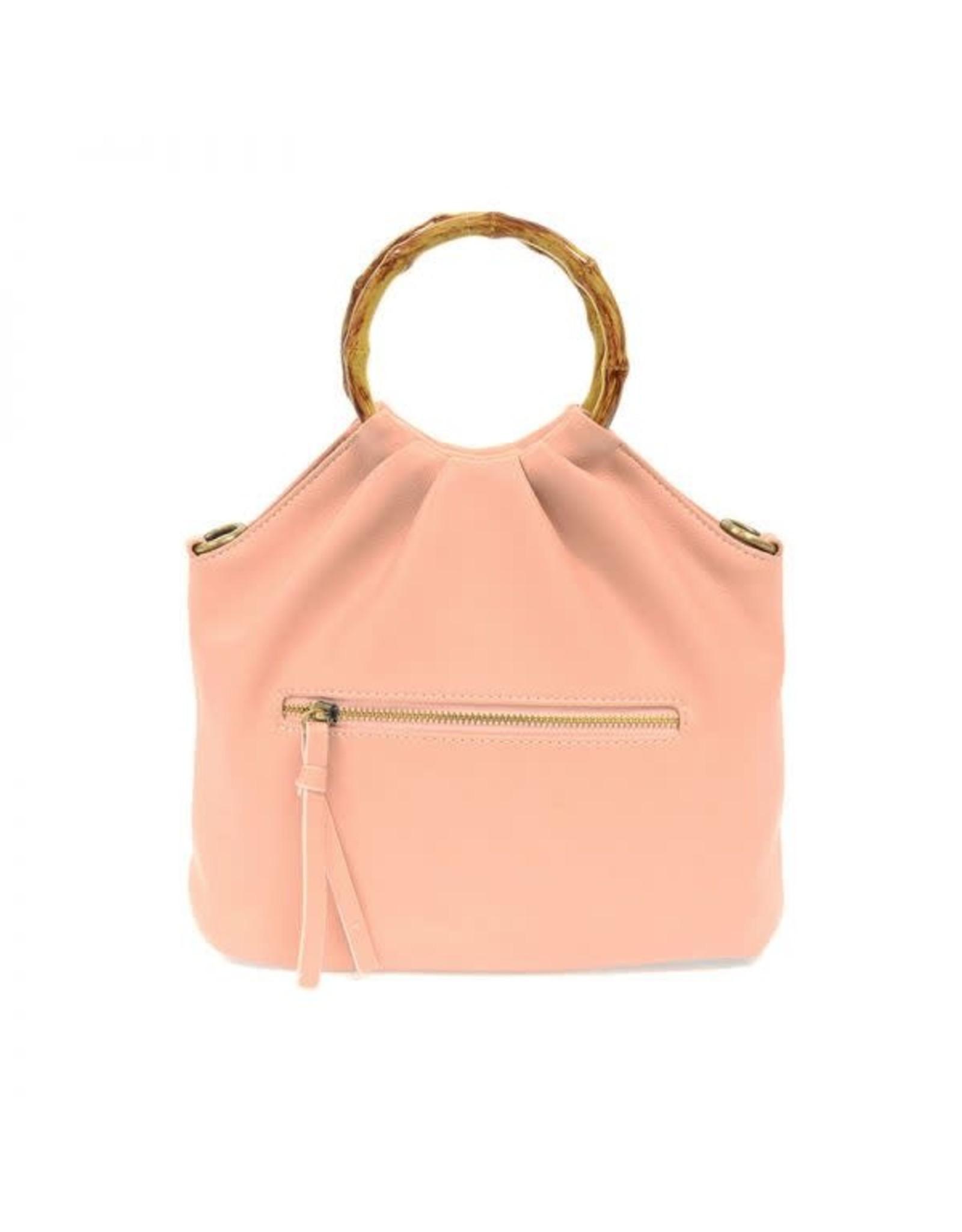 Joy Susan Natalie Bamboo Handle Pouf Bag
