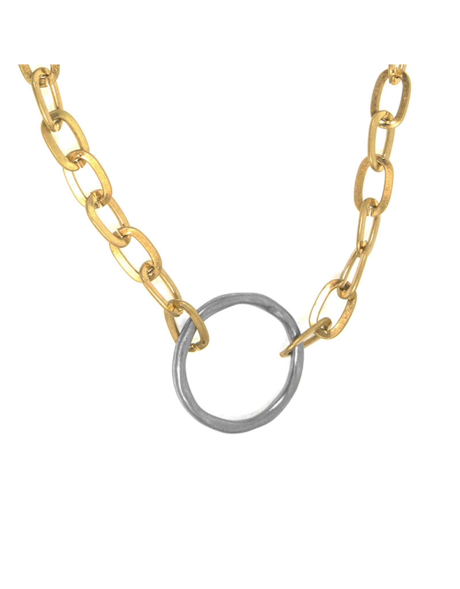 Joy Susan Link Ring Necklace