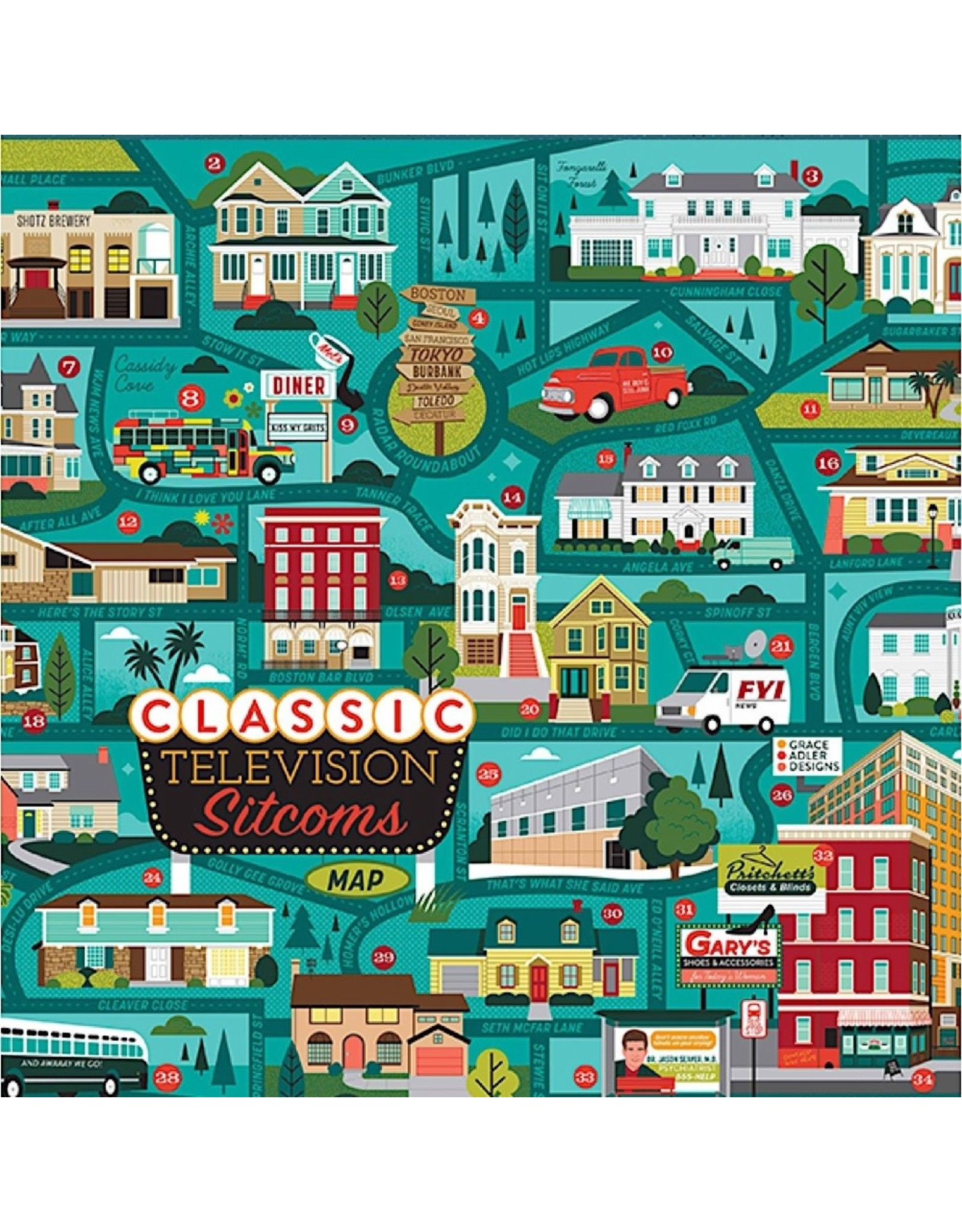True South Puzzles Jigsaw Puzzles