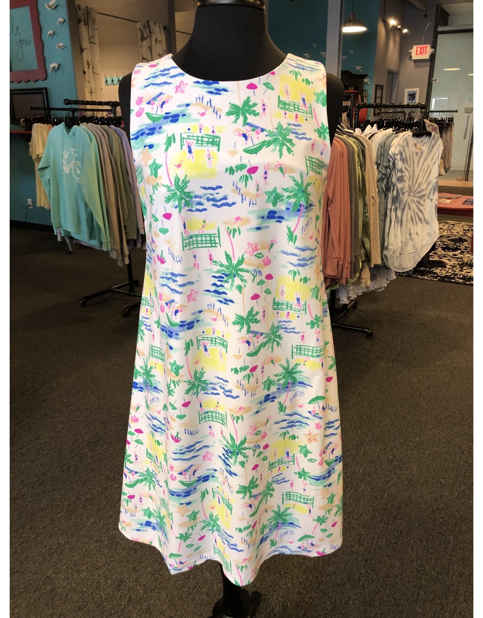 Aryeh Crisscross Beach Day Dress