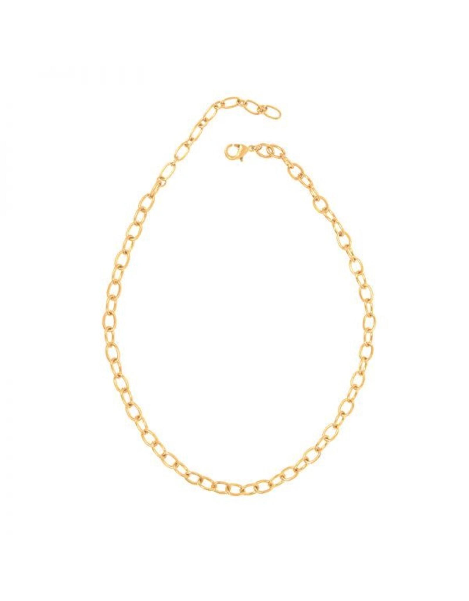 Joy Susan Gold Mini Link Necklace