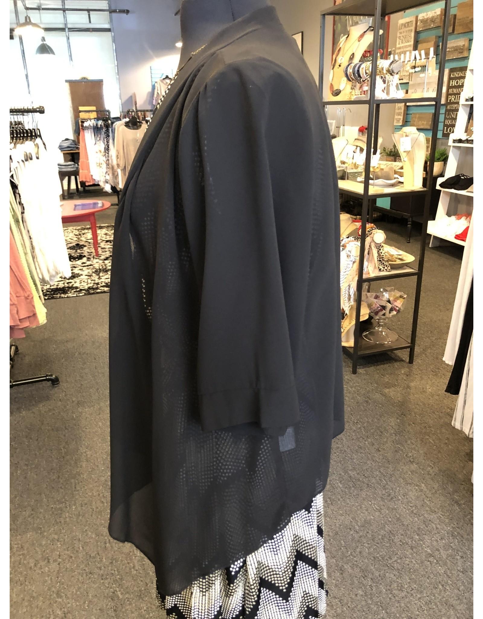Papillon Sheer Coverup Cardigan