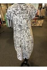 Orientique Short Sleeve Bubble Dress
