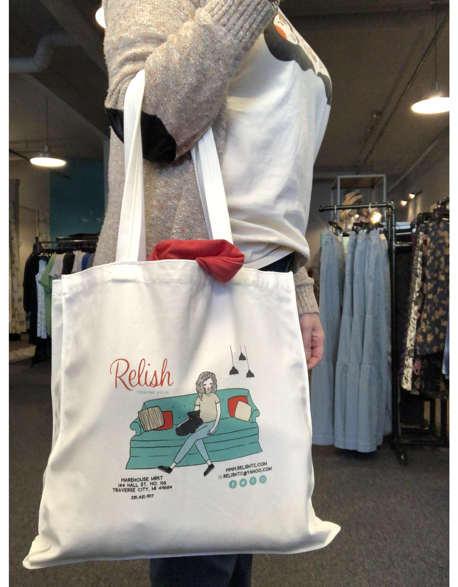Relish Relish Reusable Tote Bag