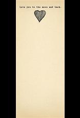 Sugarboo & Co Skinny Notepad