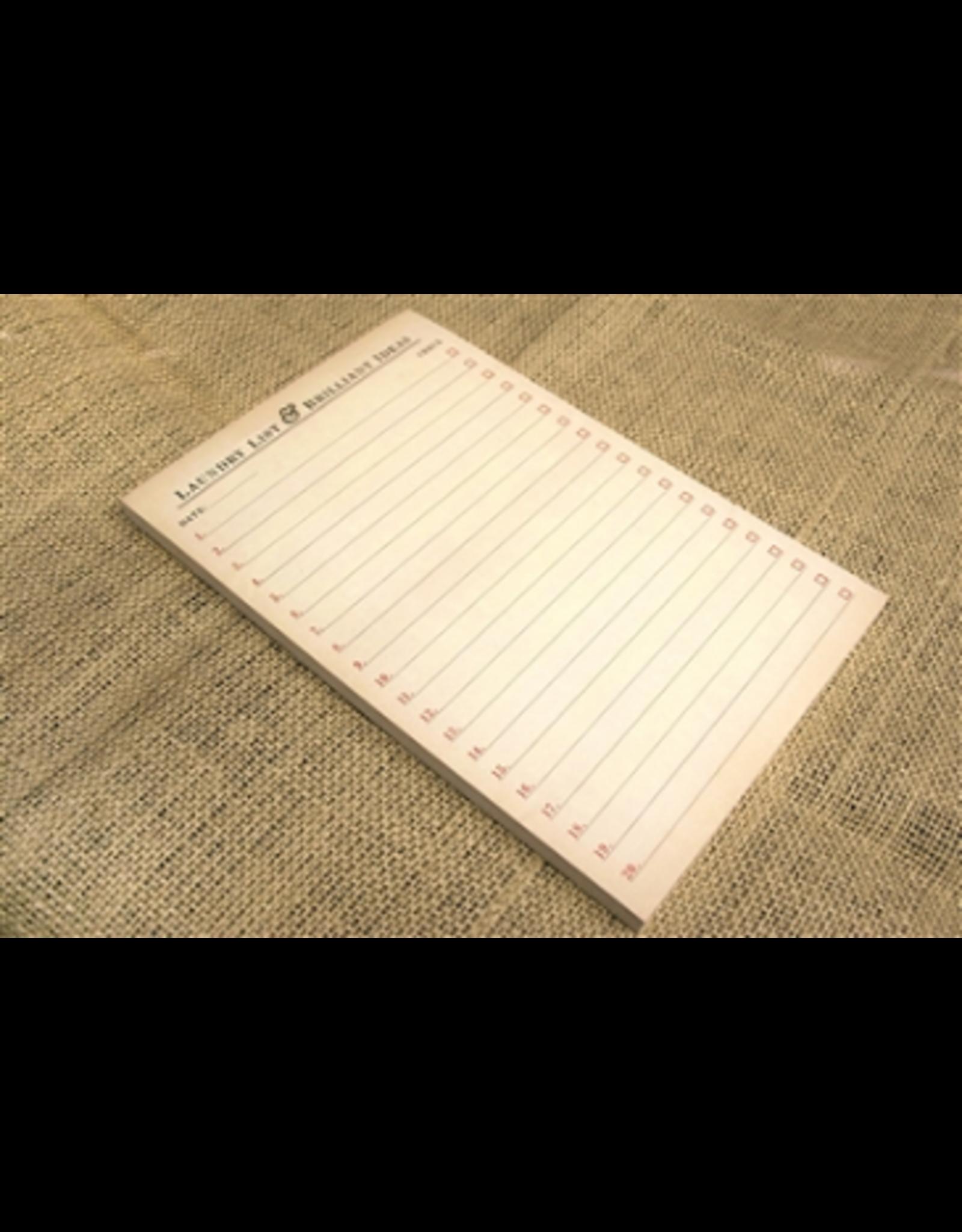Sugarboo & Co Laundry List & Brilliant Ideas Notepad
