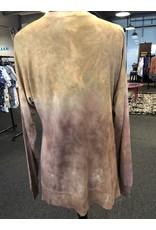 Dantelle Side Slit Lightweight Sweatshirt