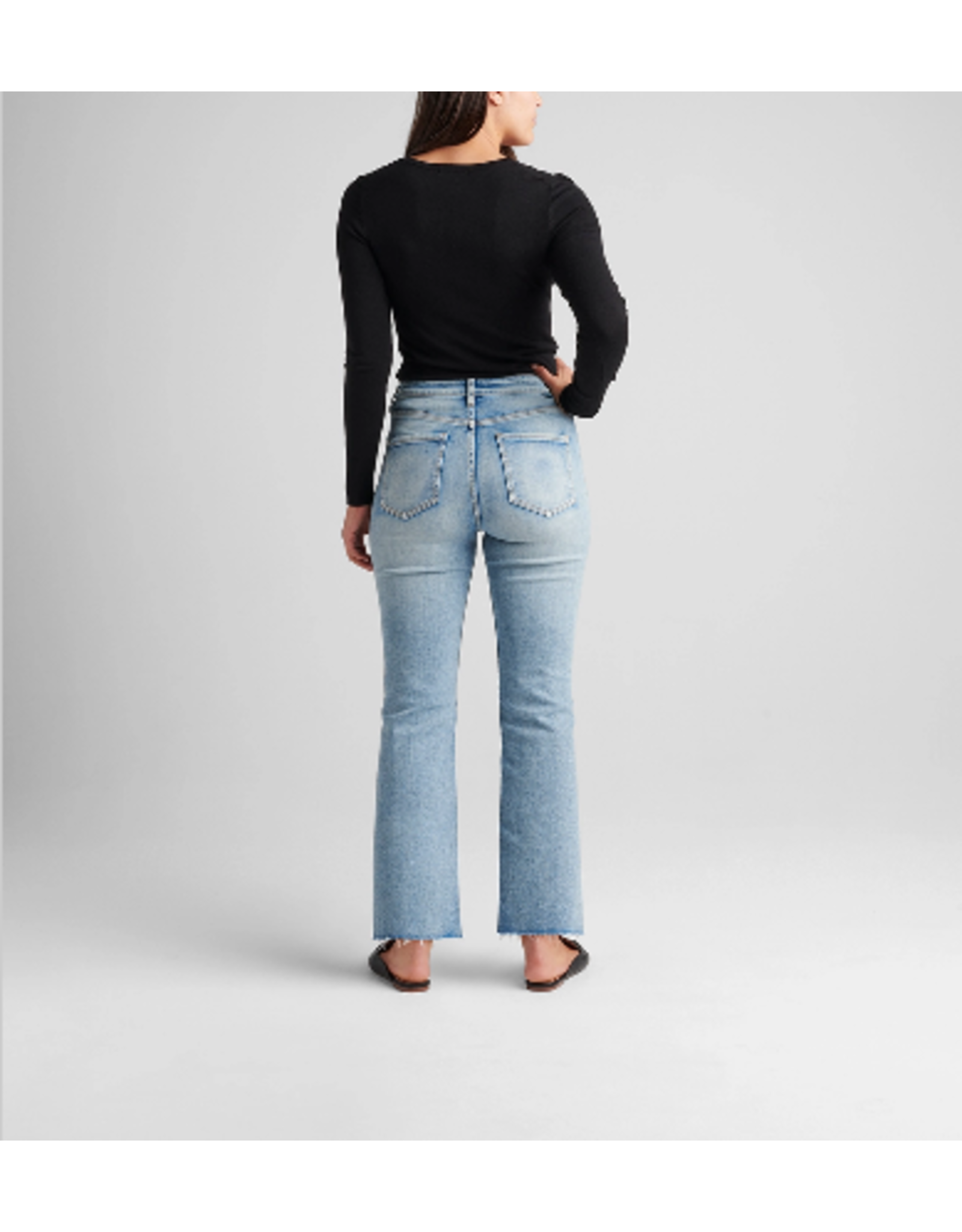 Jag Jeans Phoebe High Rise Cropped Bootcut Jeans