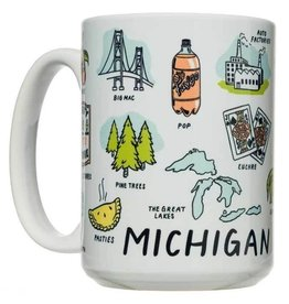 City Bird Michigan Things Mug