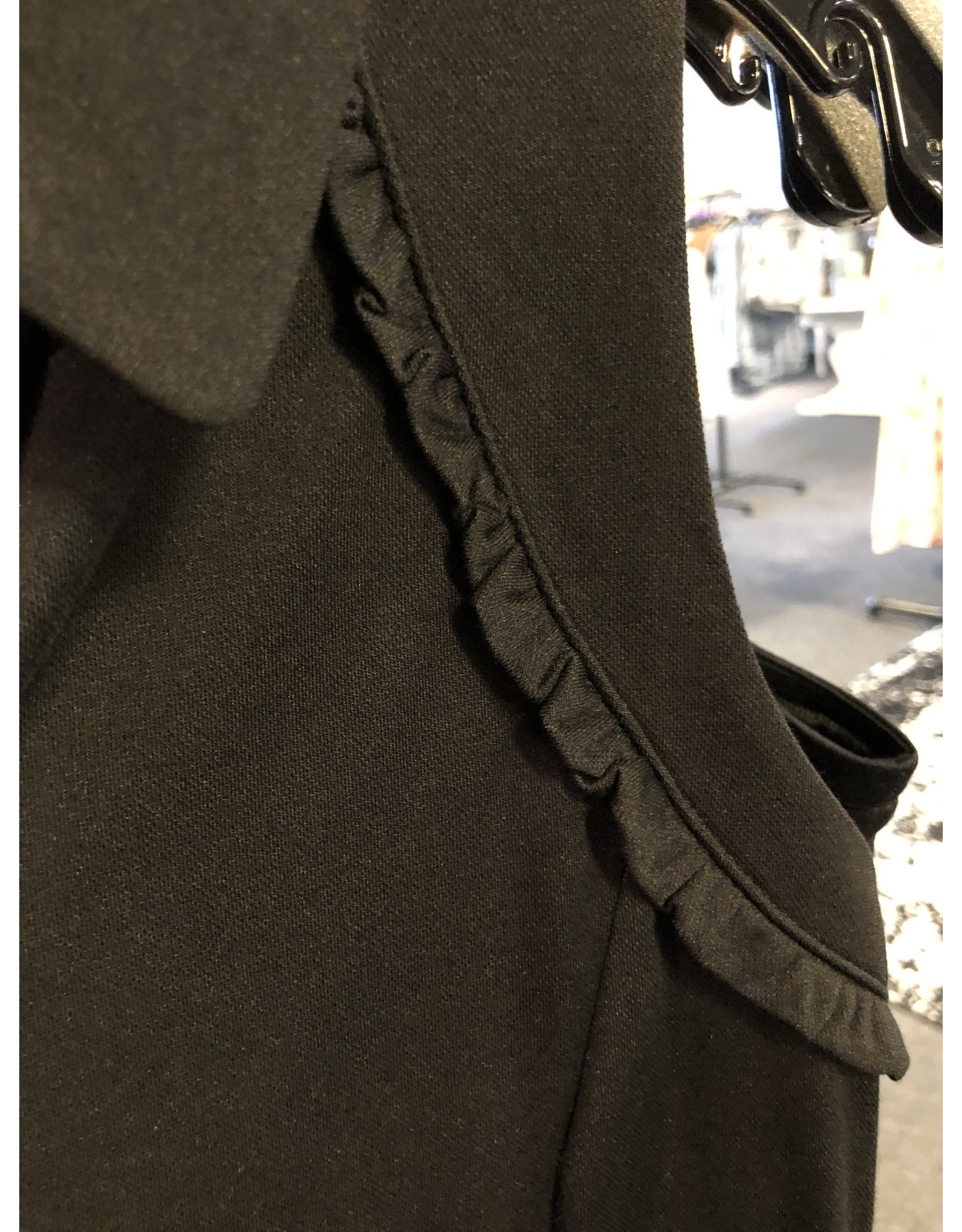 Aryeh Genesis Sleeveless Polo with Ruffle Detail