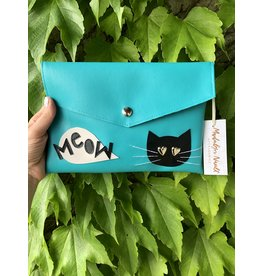 Madalyn Nault Accessories Kitty Clutch