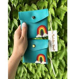 Madalyn Nault Accessories Rainbow Wallet