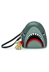 Relish Scary Shark Wristlet