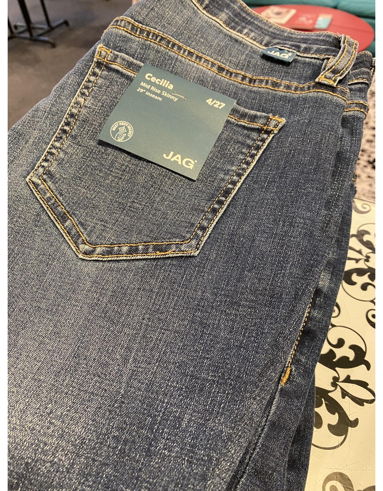 Jag Jeans Cecilia Mid Rise Skinny Jean