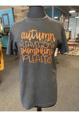 Relish Autumn Leaves & Pumpkins Please Tee