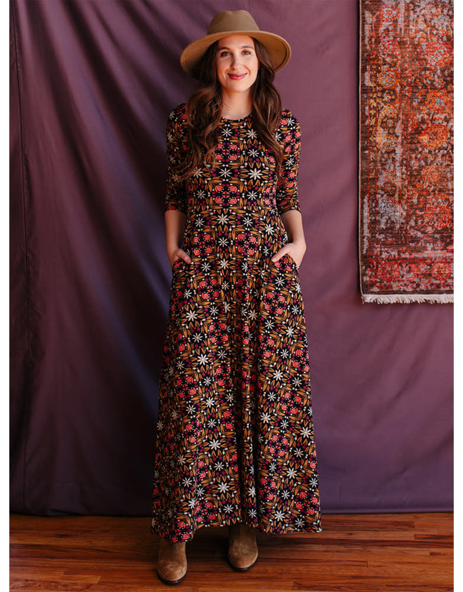 Mata Traders Mumbai Maxi Dress