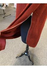 Papillon Zip Side Sweater