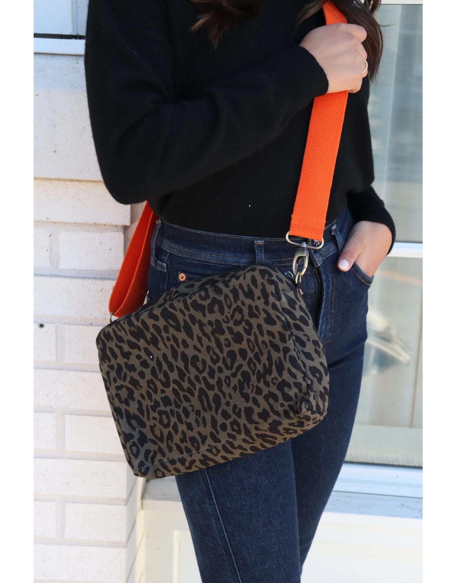 Panache Accessories Leopard Crossbody Bag