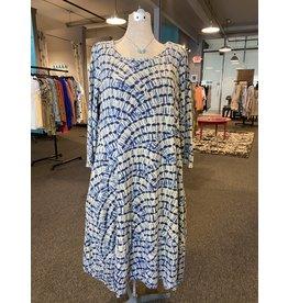 Prairie Cotton Tulip Dress - 3/4 Sleeves