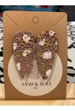 Sand & Soul Petal Pink Clay Earrings