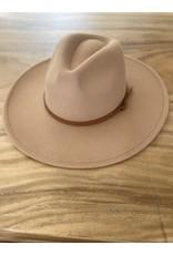 Relish Thin Band Wide Brim Panama Hat