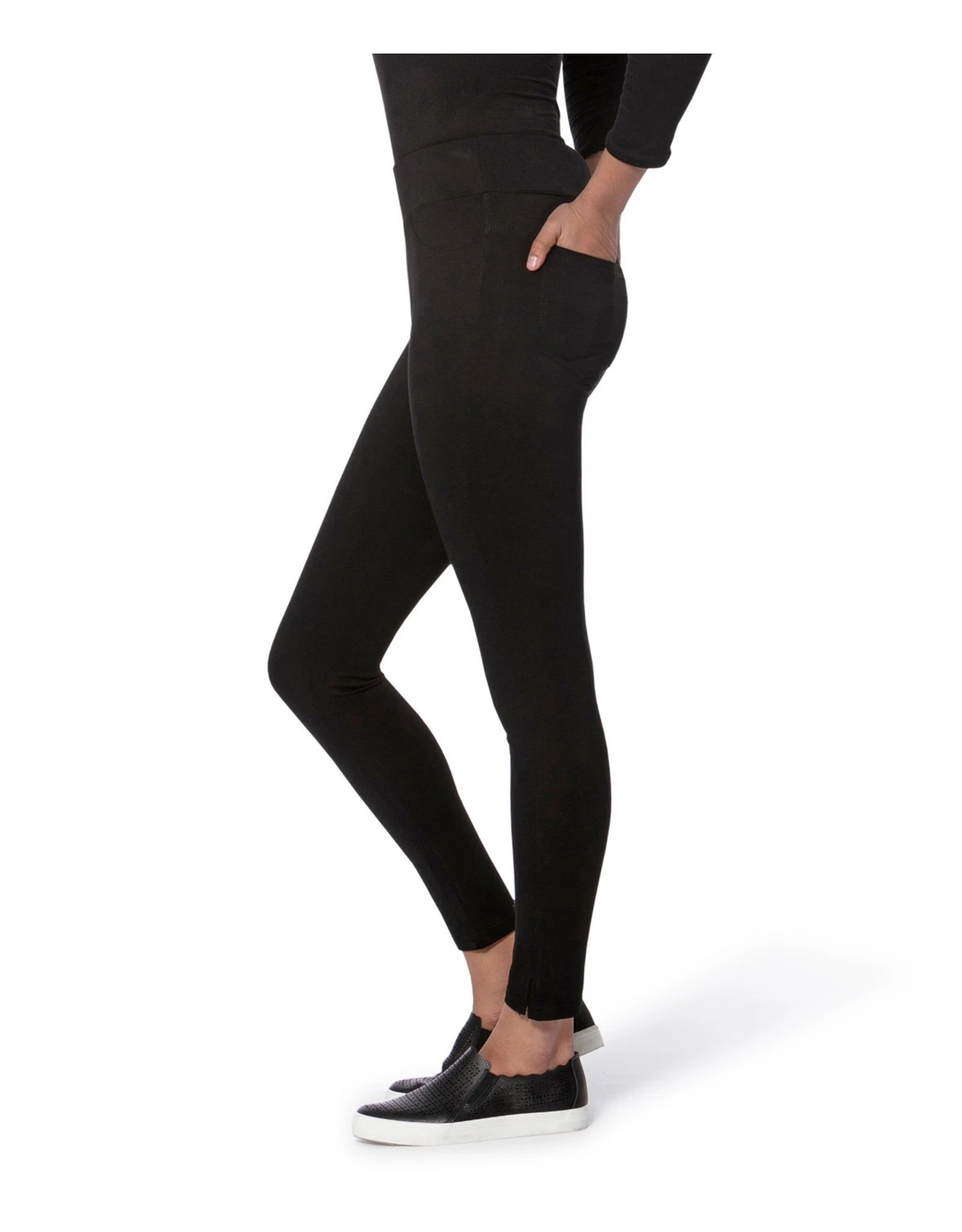 Lola Jeans Ponte Mid Rise Leggings