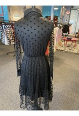 Papillon Mesh Dot Dress