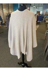 Vintage Concept One Button Poncho Style Sweater