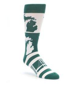 Bold Endeavors Men's Michigan Socks
