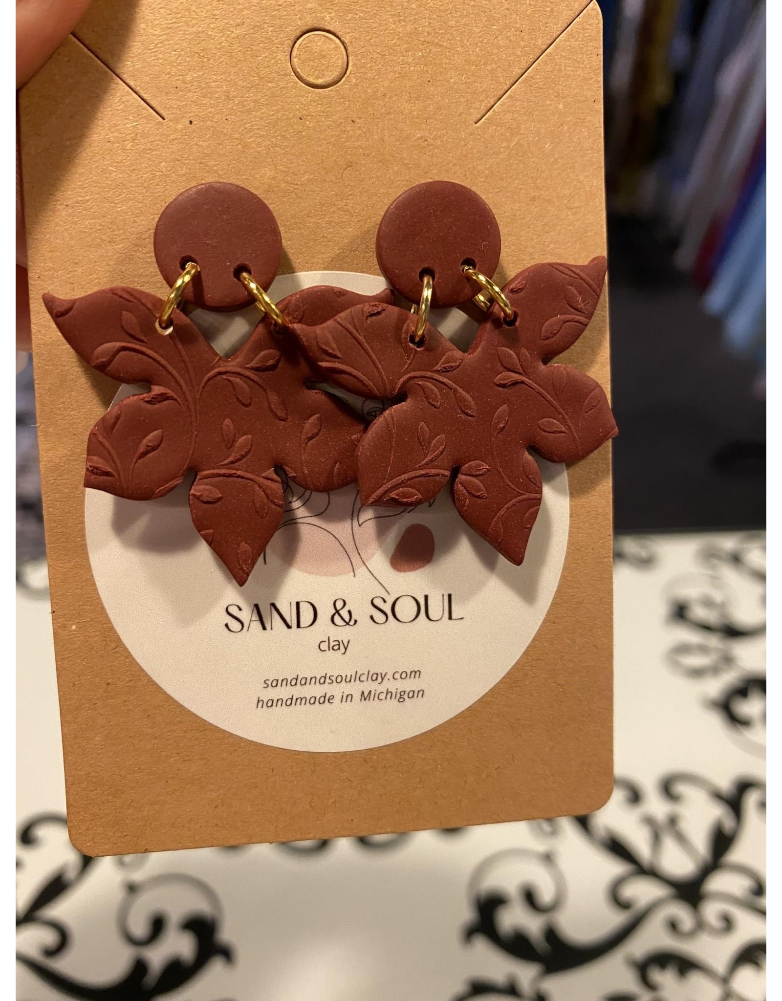 Sand & Soul The Magnolia Stud Earrings
