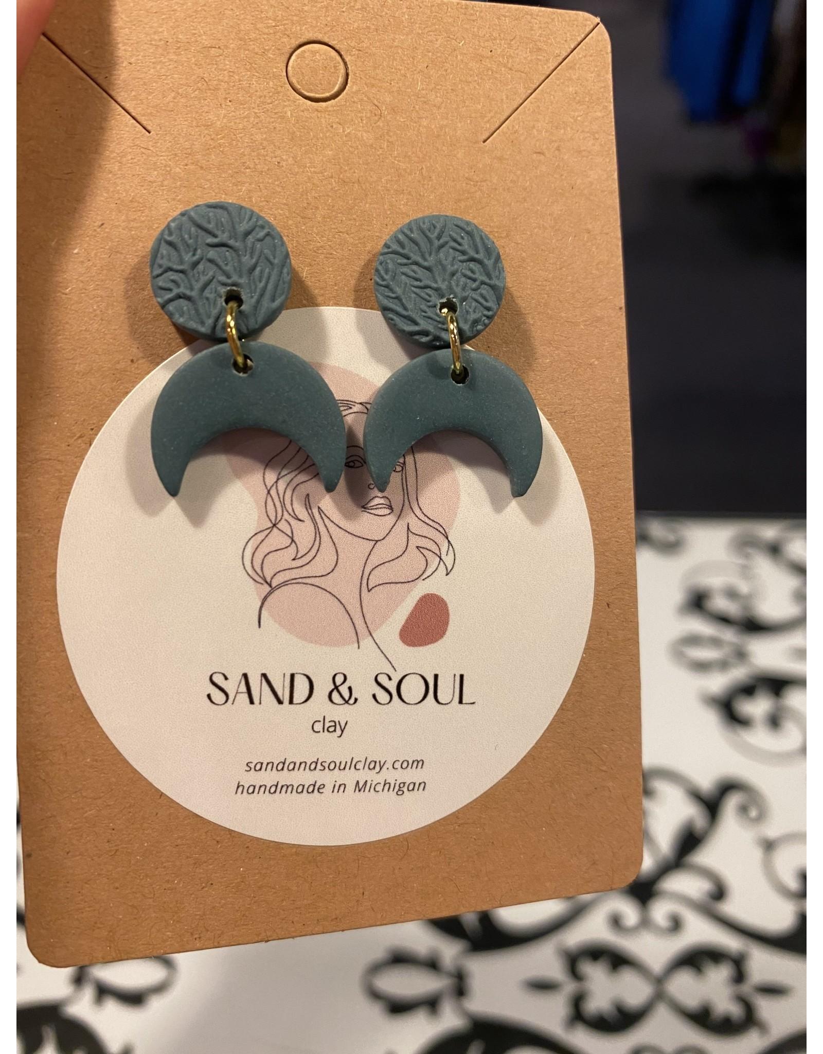 Sand & Soul Small Dangle Clay Earrings