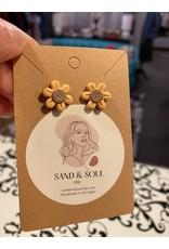 Sand & Soul Fall Clay Stud Earrings