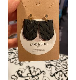 Sand & Soul Clay Post Dangle Earrings